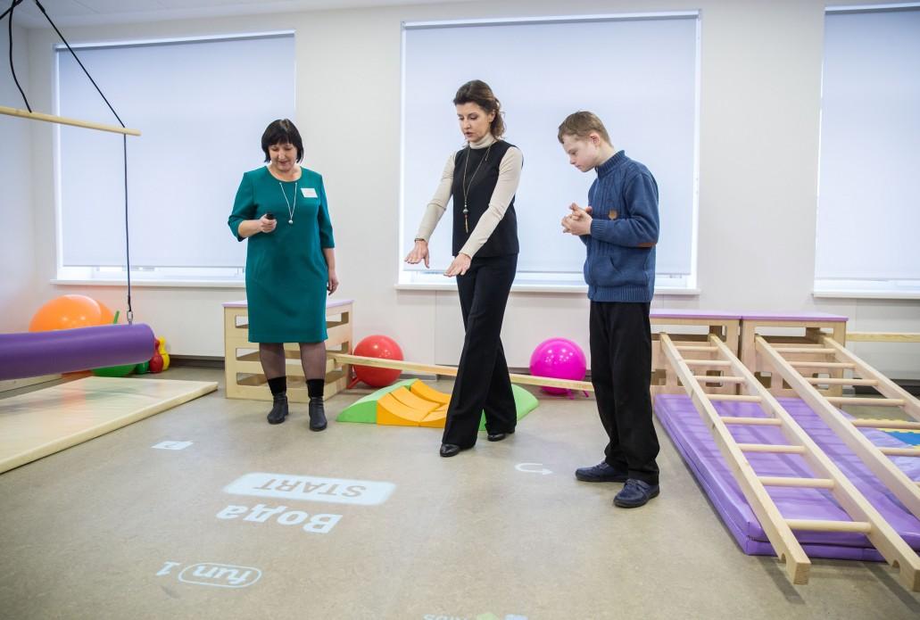 Марина Порошенко відкрила перший Інклюзивно-ресурсний центр на Дніпропетровщині (ФОТО)