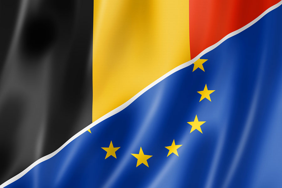 Як в Бельгії працевлаштовують людей з інвалідністю. бельгія, працевлаштування, ринок праці, робоче місце, інвалідність, electric blue, blue, design, screenshot, flag. A close up of a flag