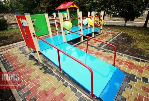 У Полтаві з'явиться перший інклюзивний дитячий майданчик. інклюзивний дитячий майданчик, полтава, бюджет участі, особливими потребами, проект