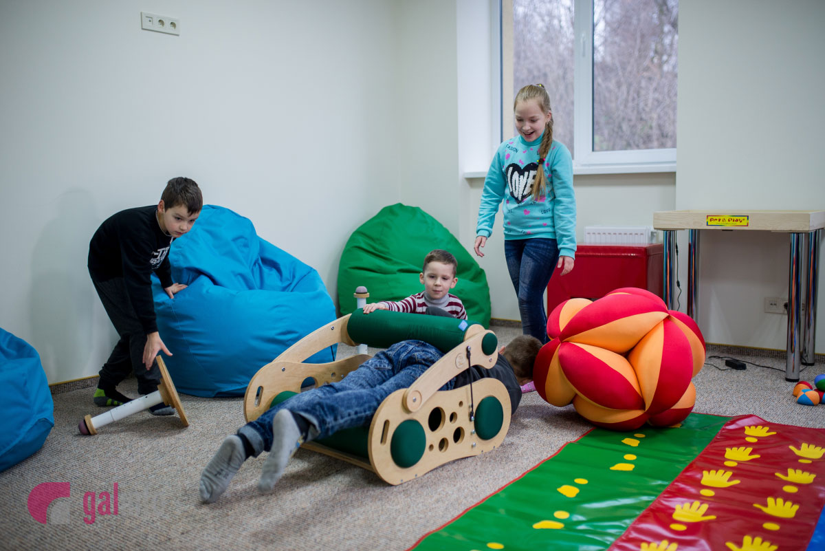 У Львові з'явилась «Сенсорна кімната» для реабілітації дітей з особливими потребами (ФОТО)