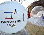 Як українські паралімпійці готуються до зимових Паралімпійських ігор у Кореї (ВІДЕО). корея, паралімпіада-2018, паралімпійські ігри, змагання, спортсмен, ground, outdoor, building, snow. A large white ball
