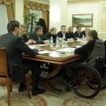 Світлина. «Укрзалізниця» має уважно ставитися до осіб з інвалідністю, – Володимир Омелян. Новини, інвалідність, зустріч, укрзалізниця, пасажир, сервіс