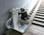 В одесских подземных переходах устанавливают электроподъемники для инвалидов и мам с колясками (ФОТО). одесса, инвалид, подземный переход, проект, электроподъемник, outdoor, auto part, trash
