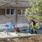 Світлина. В Мариуполе устанавливают необычные тренажёры для детей (ФОТОФАКТ). Новини, инвалидность, Мариуполь, благоустройство, площадка, тренажёр