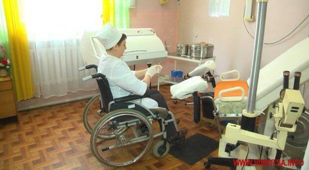 Єдина в Україні. У Вінницькій області акушер-гінеколог на візку лікує безпліддя. валентина пугач, хмільник, акушер-гінеколог, лікар, травма хребта