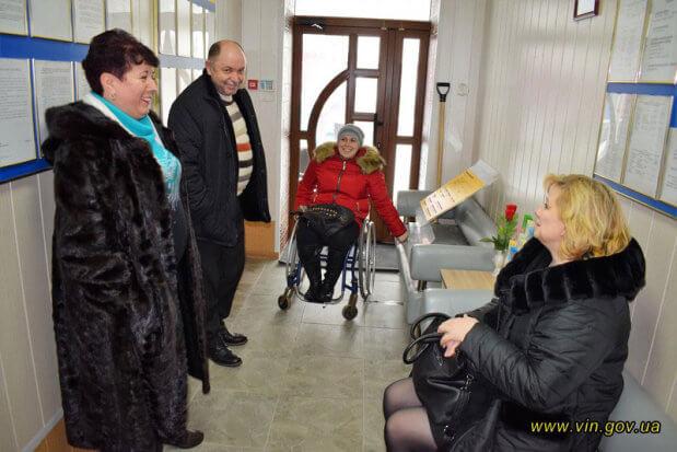 Аудит доступності до послуг Пенсійного фонду провели в Хмільницькому об'єднаному управлінні. пенсійний фонд, хмельниччина, аудит, доступність, інвалідність