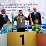 Паралімпійці України яскраво завершили змагання кубку світу з пауерліфтингу