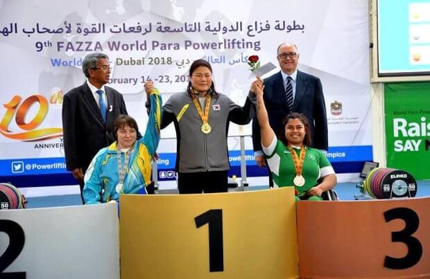 Паралімпійці України яскраво завершили змагання кубку світу з пауерліфтингу КУБОК СВІТУ ЗМАГАННЯ НАГОРОДА ПАРАЛІМПІЙСЬКА ЗБІРНА ПАУЕРЛІФТИНГ