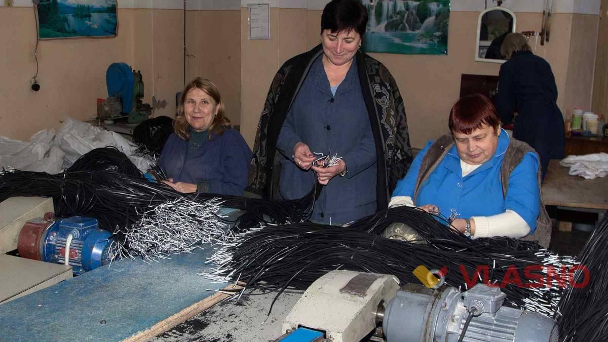 УТОС у Вінниці забезпечує роботою півтори сотні незрячих
