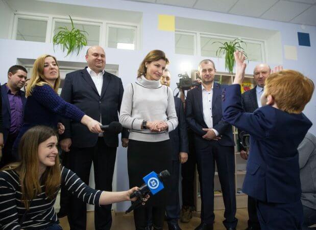 Марина Порошенко ініціювала створення 26-ти інклюзивно-ресурсних центрів у Хмельницькій області. марина порошенко, хмельниччина, особливими освітніми потребами, інклюзивна освіта, інклюзивно-ресурсний центр