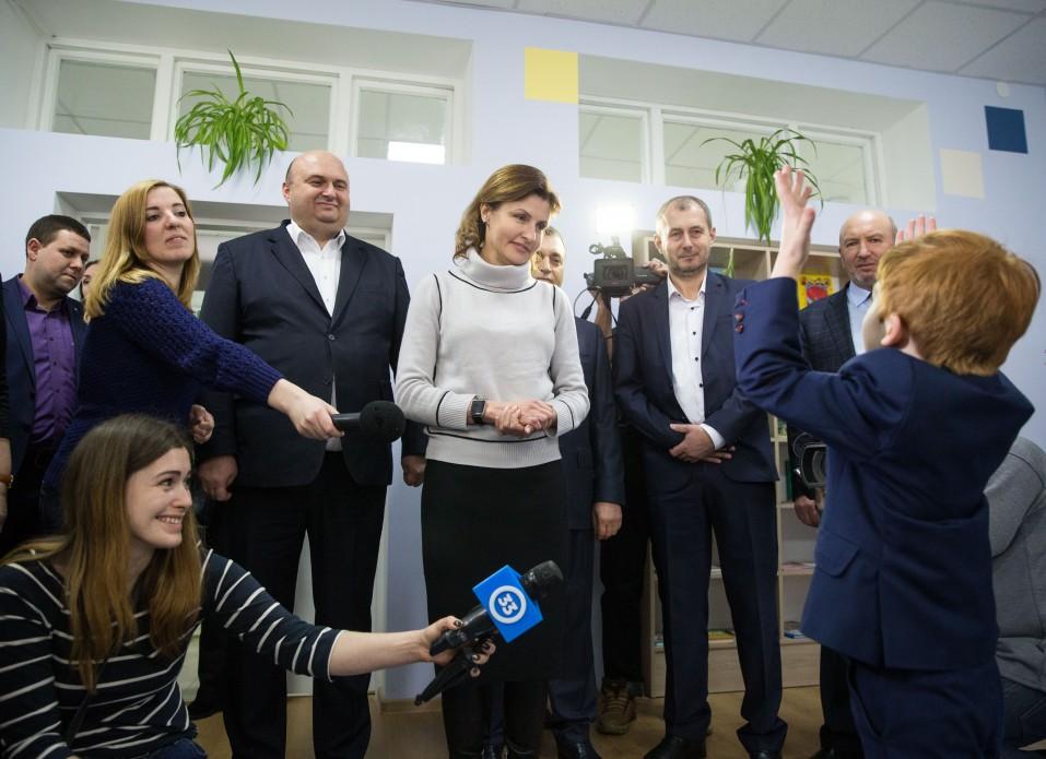 Марина Порошенко ініціювала створення 26-ти інклюзивно-ресурсних центрів у Хмельницькій області