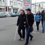 В Харькове помогут слабовидящим людям