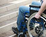 Забезпечення доступності інфраструктури для людей з обмеженими фізичними можливостями. добропілля, доступність, обстеження, інвалід, інфраструктура, bicycle, wheel, bicycle wheel, furniture, outdoor, person, tire, seat, chair, land vehicle. A person sitting on a bicycle seat