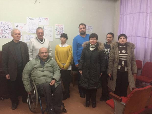 Яким бачать майбутнє незрячі активісти Одеси?. одеса, утос, незрячий, стратегічне планування, інвалід