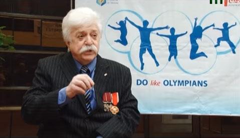 Екстремальний мандрівник Микола Подрезан відвідав Ужгород (ВІДЕО)