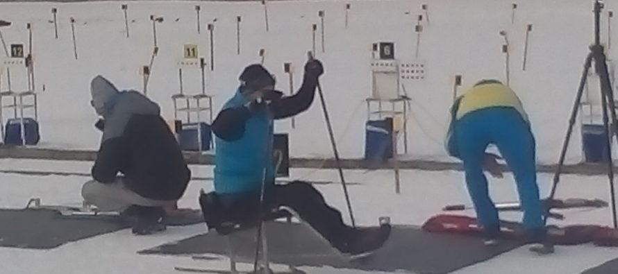 На Львівщині завершилися національні змагання із зимових видів спорту серед спортсменів з інвалідністю. львівщина, вади слуху, змагання, спортсмен, інвалідність, furniture, cartoon, chair. A group of people in a room