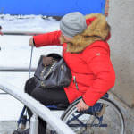 Світлина. Аудит доступності до послуг Пенсійного фонду провели в Хмільницькому об'єднаному управлінні. Безбар'ерність, інвалідність, доступність, аудит, Хмельниччина, Пенсійний фонд