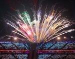 Паралімпійські ігри: 5 фактів про церемонію відкриття. паралімпійські ігри, змагання, паралимпиец, спортсмен, інвалідність, fireworks, outdoor object, lit, light, night, dark. Fireworks in the night sky