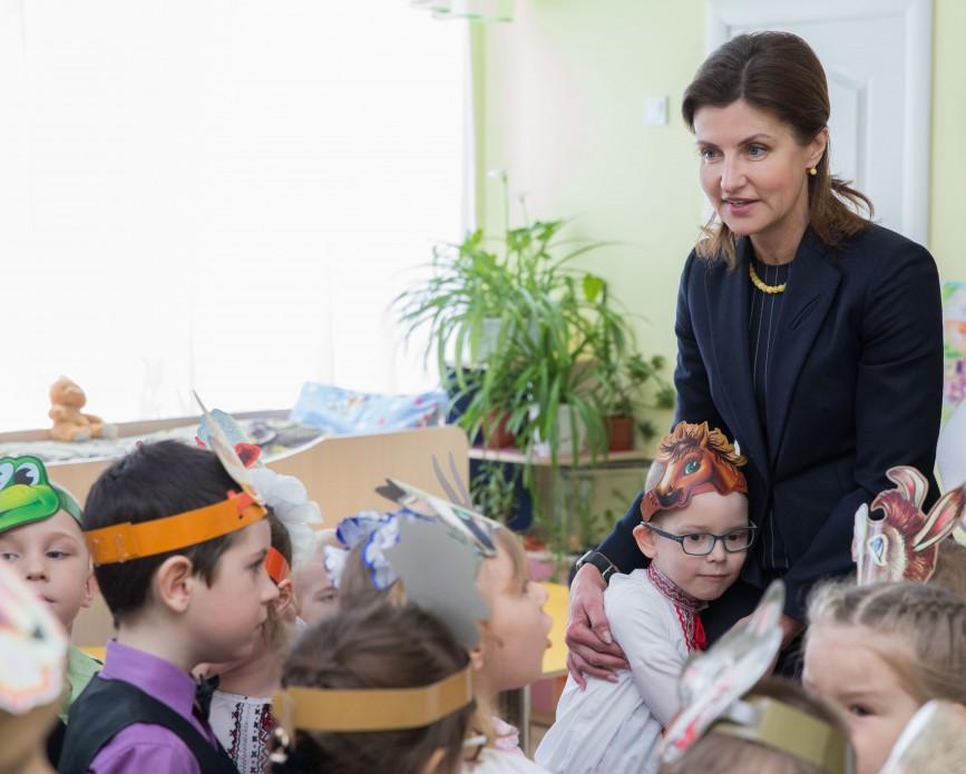 Сумщина долучилася до національного проекту Марини Порошенко з розвитку інклюзивної освіти