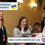 «Мій внесок у спільноту» - ініціатива до дня осіб із Синдромом Дауна