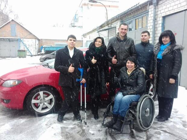 У Вінниці 15 людей з інвалідністю безкоштовно навчилися водити авто. вінниця, автомобіль, курси водіїв, ручне керування, інвалідність