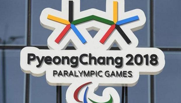 Паралімпіада-2018: Україна завершила виступ у Пхьончхані з 22 медалями. паралімпіада-2018, паралімпійські ігри, медаль, паралимпиец, спортсмен, sign, text. A sign on a pole