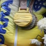 Світлина. Українські чемпіони і призери-паралімпійці повернулися додому з Пхенчхана (ФОТОГАЛЕРЕЯ, ВІДЕО). Спорт, паралимпиец, Паралімпіада-2018, чемпион, призер, повернення