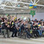 """Світлина. Ігор Жданов: """"Ми всі переживали, вболівали за наших паралімпійців, а вони віддячили нам перемогами"""". Спорт, інвалід, спортсмен, Паралімпійські ігри, паралимпиец, Паралімпіада-2018"""