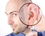 Як у Запоріжжі допомагають людям, які втратили слух? (ВІДЕО). глухота, запоріжжя, втрата слуху, слуховий апарат, інвалідність, person, man, human face, face, eyes. A man wearing glasses
