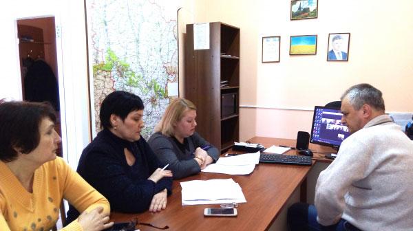 На Луганщині проведено скайп-нараду щодо впровадження нової системи забезпечення осіб з інвалідністю технічними та іншими засобами реабілітації