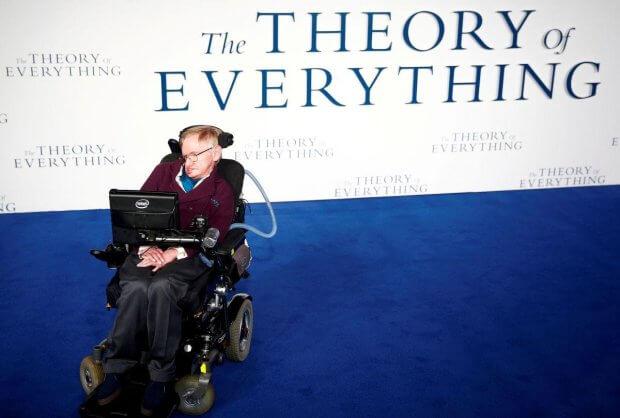 Помер відомий фізик Стівен Хокінг. стивен хокинг, аміотрофічний склероз, наука, паралич, фізик