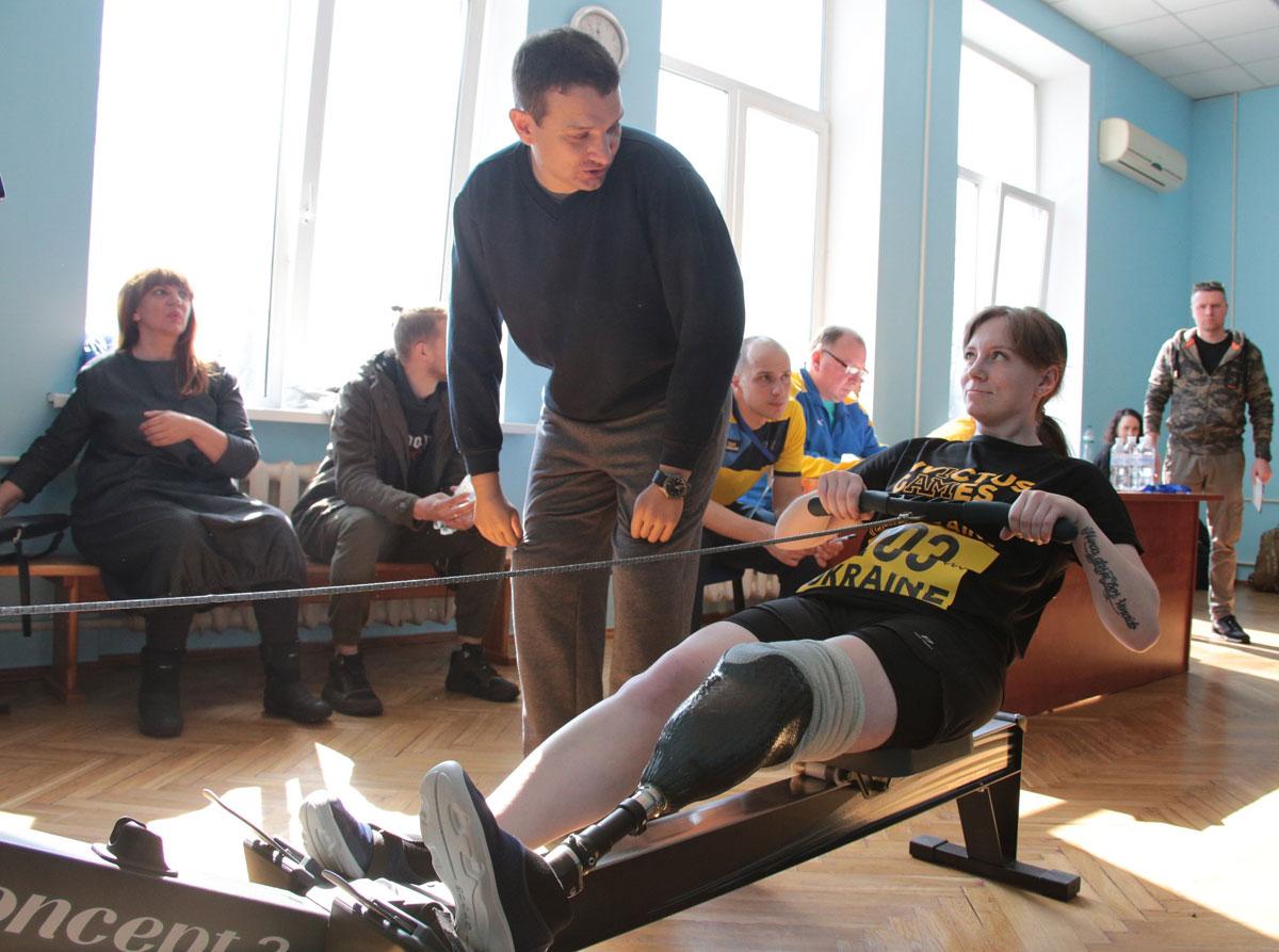 У Києві відбувся етап спортивних тестувань кандидатів на участь до складу збірної України «Ігри Нескорених» (ФОТО)