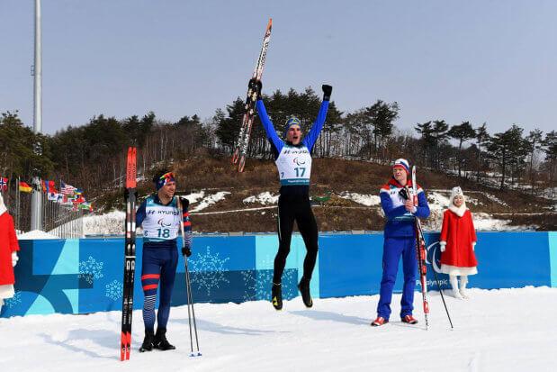 Третій день Паралімпіади: національна паралімпійська збірна команда на третьому місці. паралимпиада, змагання, паралимпиец, паралімпійська збірна, спортсмен