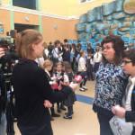 Світлина. Прес-реліз: Столичні школярі на підтримку дітей з аутизмом влаштували ярмарок. Новини, Київ, аутизм, толерантність, ярмарок, Студія соціалізації