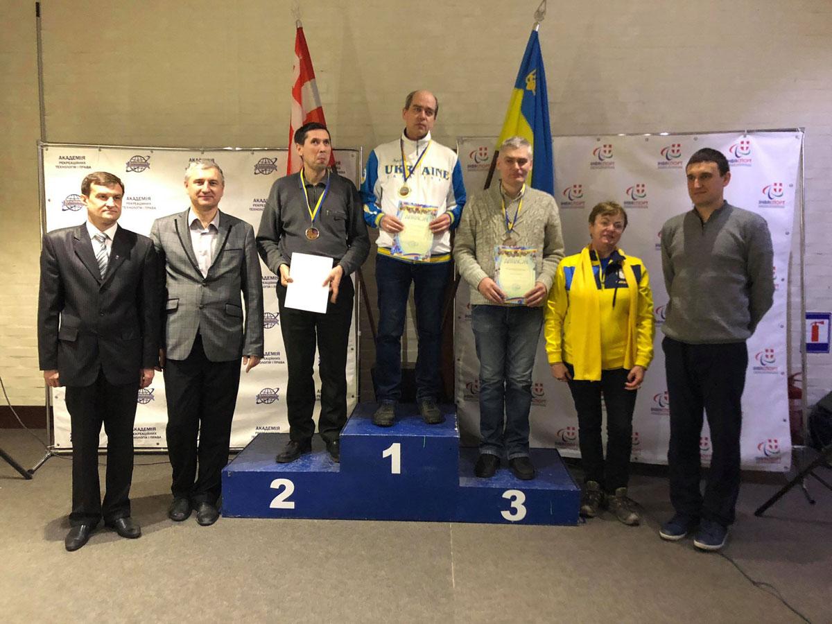 У Луцьку визначили призерів чемпіонату України з шашок-64