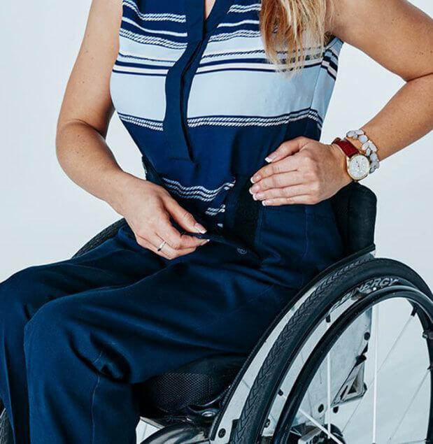 Tommy Hilfiger выпустил коллекцию для людей с инвалидностью. spring adaptive collection, tommy hilfiger, инвалид, инвалидность, одежда