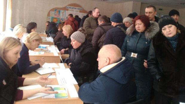 Понад півсотні осіб з інвалідністю відвідали ярмарок вакансій у Кропивницькому. кропивницький, працевлаштування, центр зайнятості, ярмарок вакансій, інвалідність