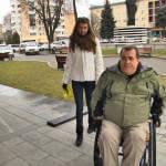 Чи адаптований Луцьк для людей з інвалідністю – експеримент від журналістів (ВІДЕО)