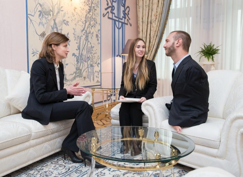 Марина Порошенко обговорила з Ніком Вуйчичем реформу інклюзивної освіти в Україні