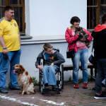 В Киеве впервые показали, как собаки могут помочь особенным детям (ФОТО, ВИДЕО)
