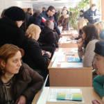 Світлина. Понад півсотні осіб з інвалідністю відвідали ярмарок вакансій у Кропивницькому. Робота, інвалідність, працевлаштування, центр зайнятості, Кропивницький, ярмарок вакансій