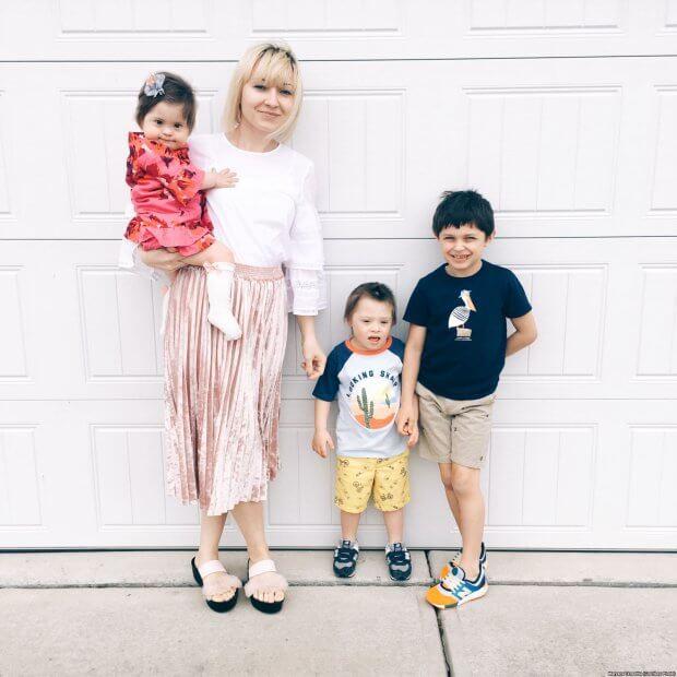 Як ростити дитину з синдромом Дауна: досвід української сім'ї у США. сша, випробування, раннє втручання, синдром дауна, інвалід
