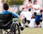 Тільки 500 осіб: кому на ЗНО нададуть особливі умови. зно, випускник, особливими освітніми потребами, тестування, інвалідність, grass, outdoor, person, bicycle, wheelchair, chair, seat. A person riding on the back of a bicycle