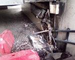 В Киеве жгут подъемники для инвалидов. киев, инвалидность, поджог, подземный переход, подъёмник, abandoned, indoor, exploration, decay, dirty. A piece of luggage