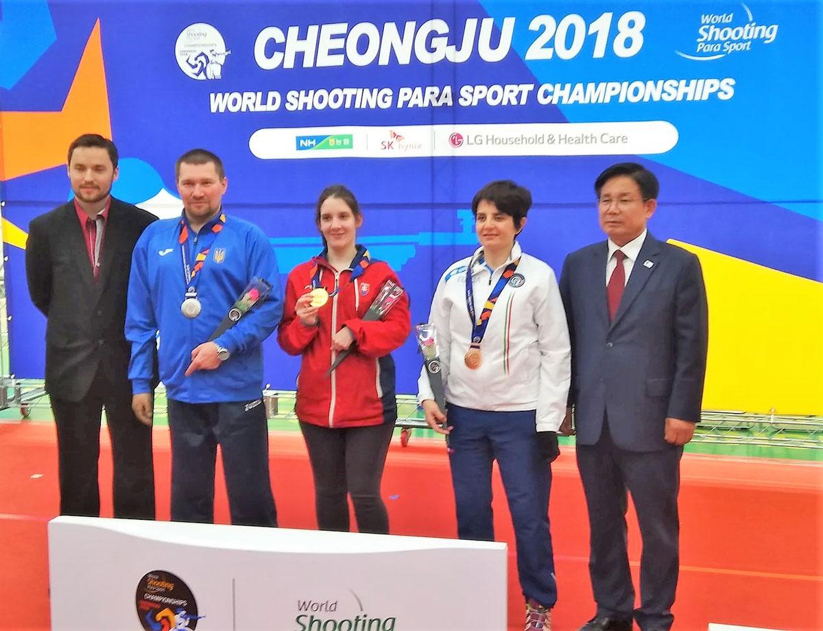 Українські пара-стрілки завершили змагання чемпіонату світу 13-ма високими нагородами