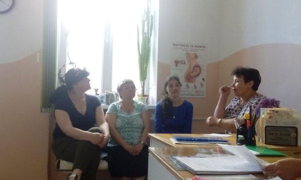 """Оксана Мазурок: """"Інклюзивні жінки живуть повноцінним життям"""". івано-франківськ, оксана мазурок, планування сім'ї, прес-зустріч, інвалідність"""
