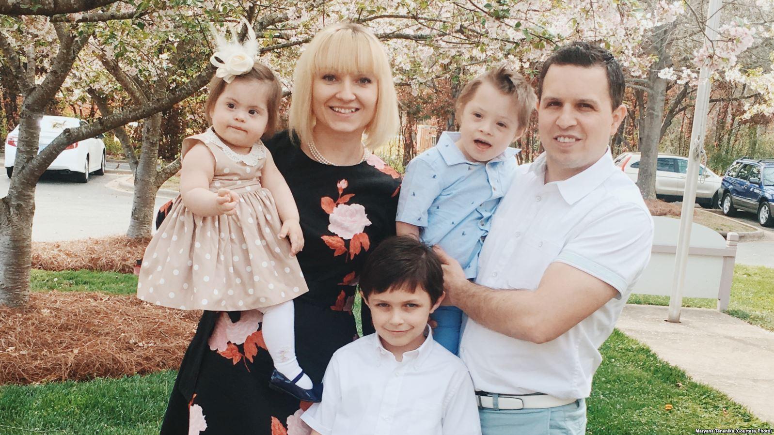 Як ростити дитину з синдромом Дауна: досвід української сім'ї у США