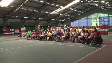"""Теніс на візках. Спортсмени з 12 країн світу змагалися в турнірі """"Кharkov Open"""" (ВІДЕО)"""