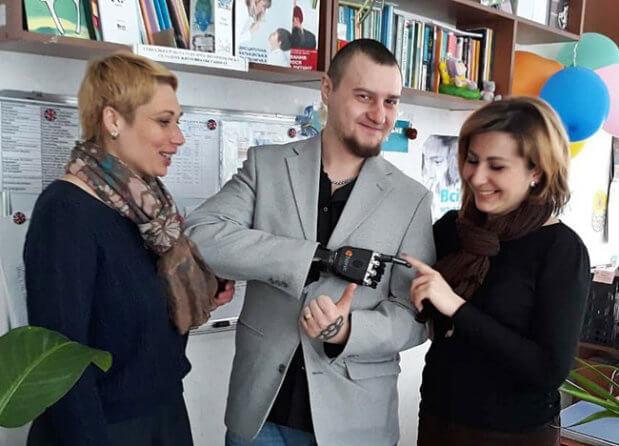 АТОвець Євген Руденко: «Життя після війни існує!». євген руденко, канів, атовець, поранення, протез