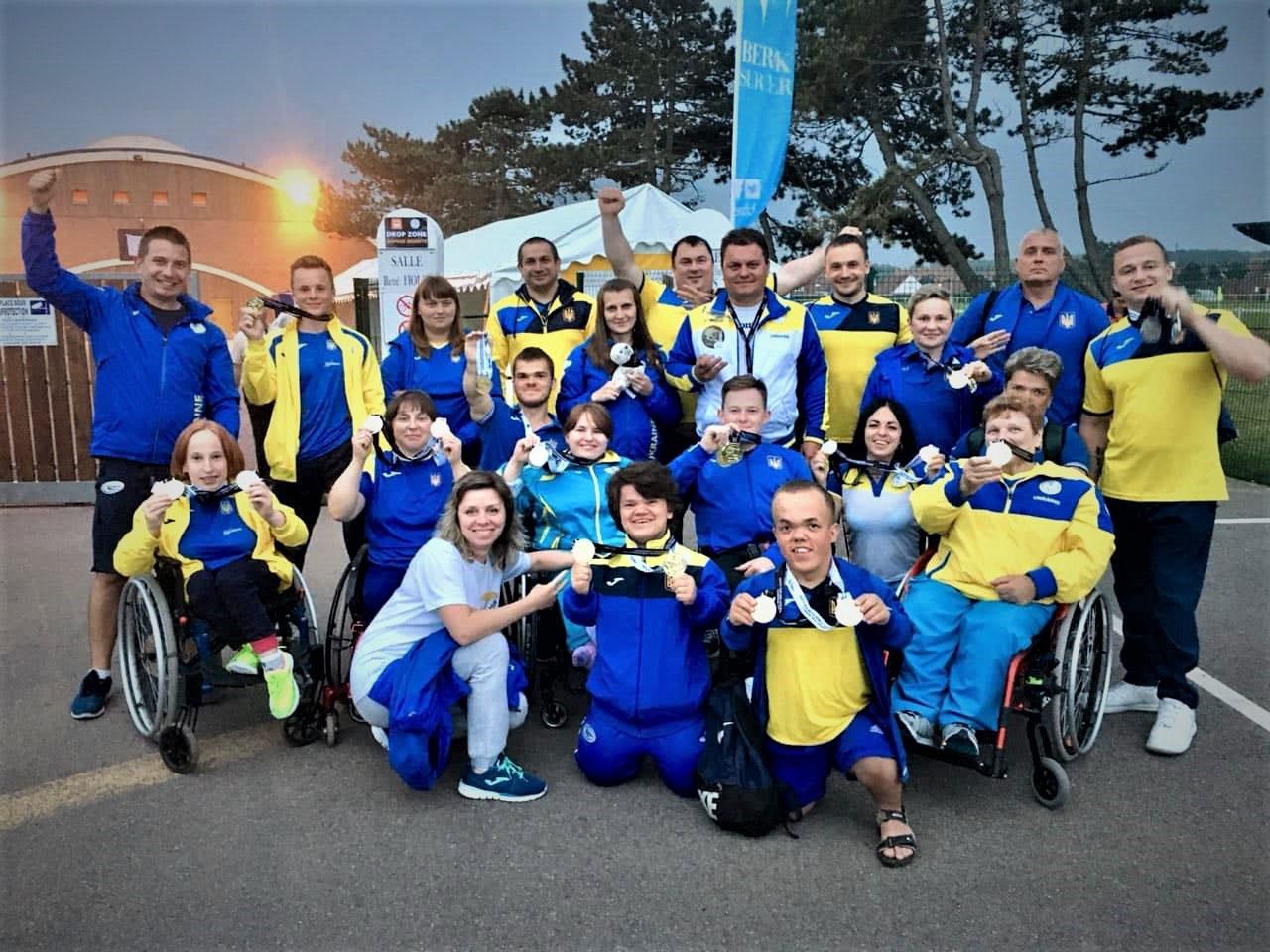 Українські паралімпійці-пауерліфтери – перші в Європі